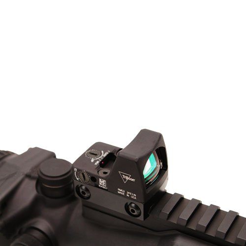 Trijicon Acog 6X48 Amber Chevron.308, Ta75, M1913Rail - Ta648Rmr-308A - The Military'S Need For A Magnified, Self-Luminous Tactical Sight That Enhances Target Identification And Increases Hit Probability On Extended-Range Shots Has Given Rise To This Sigh