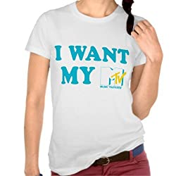 MTV: I Want My MTV Tee - Girls