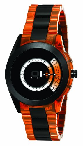 The one binary watch turning disc