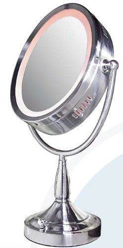 how to change light bulb in zadro led vanity mirror
