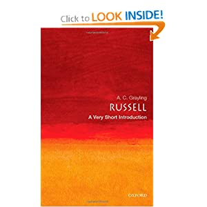 Russell: A Very Short Introduction A. C. Grayling