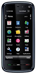 Nokia 5800 XpressMusic Comes with Music Smartphone (GPS, WLAN, UMTS, kostenlose Musik) silver black