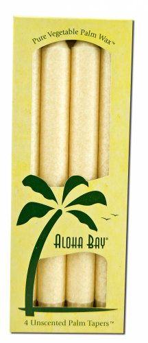 Palm Taper 9 Unscented Ivory
