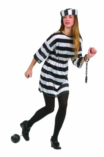 Teen Convict Girl Costume