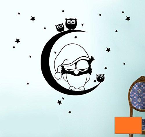 Graz-design-sticker-mural-motif-chouettes-sur-la-lune-avec-toiles-m775-slectionns-couleur