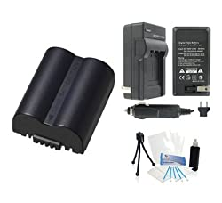 CGR-S006e High-Capacity Replacement Battery with Rapid Travel Charger for Select Panasonic Digital Cameras. UltraPro Bundle Includes: Camera Cleaning Kit, Screen Protector, Mini Travel Tripod