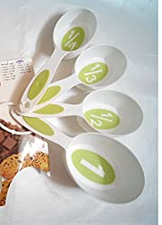 Set of 4 Pieces Multi purpose Measuring Spoon / Measuring Cups with hanging ring. A must have kitchen essential. Used to measure cooking / Baking stuff.�Measurement Spoon / Cup quantity 237 ml (1 Cup), 118 ml (1/2 cup), 79 ml (1/3 cup) and 59 ml (1/4 cup).