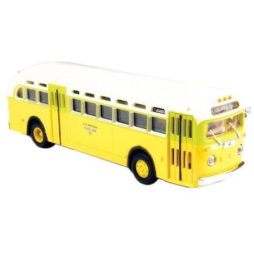 Classic Metal Works HO Scale GMC TD 3610 Transit Bus - National City Lines Destination Los Angeles