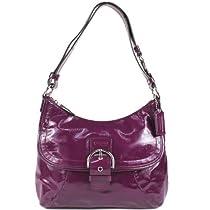 Hot Sale COACH Soho Patent Flap Duffle Handbag 19709