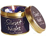 LILY FLAME CHRISTMAS SCENT CANDLE TIN - SILENT NIGHT
