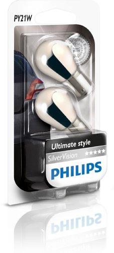 Philips-12496SVB2-PY21W-Silver-Vision-12V