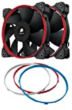 Corsair CO-9050006-WW Air Series SP120 Quiet Edition 120mm Low Noise High Pressure Fan Dual Pack
