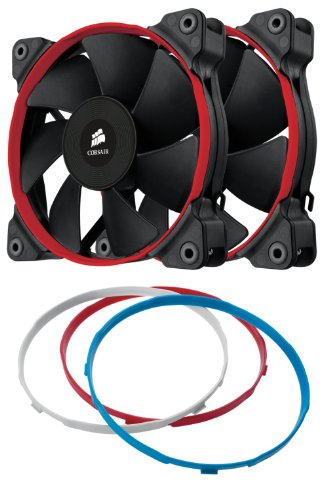 Corsair Air Series SP120 High Performance Edition Twin Pack Fan (Intake As You Use Less compare prices)