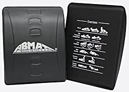 AbMat Pro Silver - The New Look AbMat Abdominal Trainer - Works Entire Abdominal Muscle Group For Complete Ab Workouts