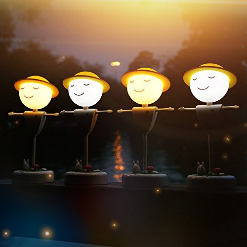smart-cartoon-scarecrow-rechargeable-night-light-usb-straw-hats-decorative-lights-power-bank