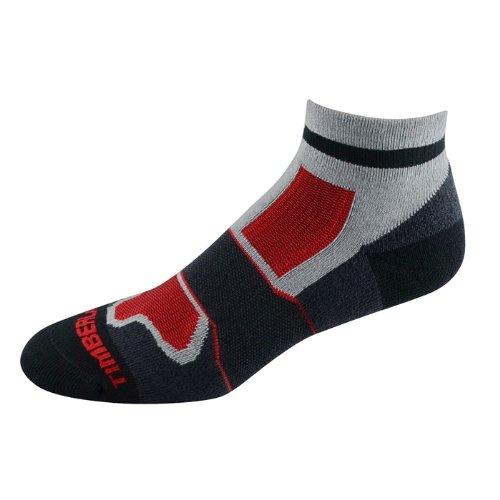 Timberland men's socks Multi Quarter black 2pairs