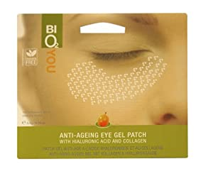 Bio2You Sea Buckthorn Anti-Ageing Eye Patches with Hyaluronic Acid and Collagen