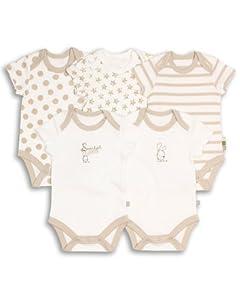 The Essential One - Paquete de 5 Body para bebé unisex ESS40 en BebeHogar.com