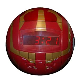 Digital Blue Bakugan Red Alarm Clock Radio by Digital Blue