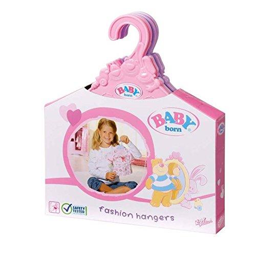 Zapf 804568 - Baby born  Kleiderbügel (5 Stück)
