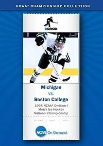 1998 NCAA(r) Division I Men's Ice Hockey National Championship - Michigan vs. Boston College