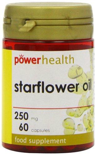 Power Health Starflower Oil 250mg - Pack of 60 Capsules