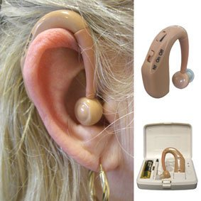 Digital Rechargeable Hearing Aid (698) - Hear with perfect accuracy with digital technology Enhance your Hearing