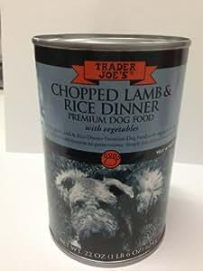 Trader Joe's Chopped Lamb & Rice Dinner Primium Dog Food
