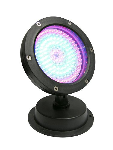 LED 144 Super Bright LED Color Changing Pond Fountain Light