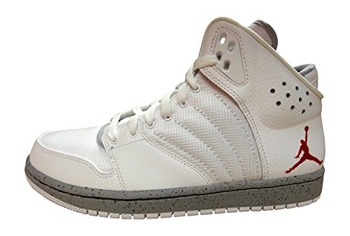Nike Jordan 1 Flight 4 Prem, Espadrilles di basket Uomo, (white gym red wolf grey black 103), 43 EU