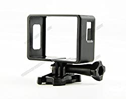 Generic New Border Frame Mount Protective case Housing Sj4000 Camera | Black