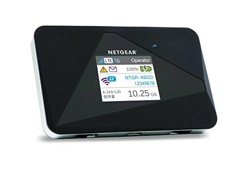 NETGEAR WiFi LTE モバイルルーター SIMフリー 11b/g/n グローバル対応 AirCard AC785-100JPS