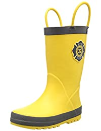 carter's Fireman Rain Boot (Toddler)