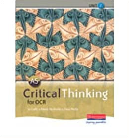 as critical thinking for ocr Flaws and argument elements for the ocr critical thinking unit 2 specification.