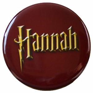 Amazon.com: Buttonsmith® Hannah Wizard Name Tag: Toys & Games