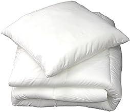 Douceur d'Intérieur 1641114 Couette Uni Confort Polyester Blanc 200 x 140 x 200 cm