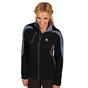 MLB Miami Marlins Ladies Discover Jacket by Antigua