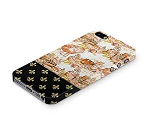Cover Affair Girly Paris / Pattern Printed Back Cover Case for Apple iPhone SE