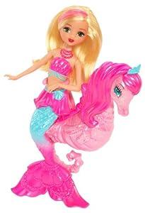 Barbie The Pearl Princess Mermaid Doll with Seahorse