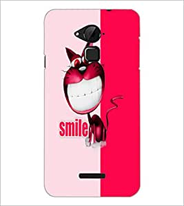 PrintDhaba Funny image D-5050 Back Case Cover for COOLPAD NOTE 3 LITE (Multi-Coloured)