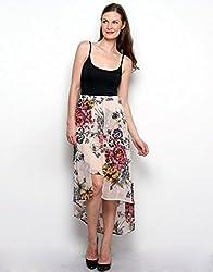 XnY Women's Skirt (SK 82425 XP_Nude_12)