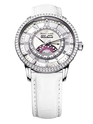 Maurice Lacroix Masterpiece Ladies Phase du Lune Diamonds - Valentine's Special from Maurice Lacroix