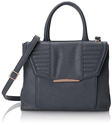 Danielle Nicole EVA Satchel Top Handle Bag,Grey,One Size