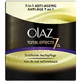 Olaz Anti-Ageing-Pflege Total Effects Nachtpflege, 2er Pack (2 x 50 ml)