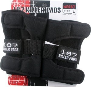 187 Black Large Wrist Guards