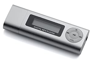 i-Ecko 4GB Silver MP3 Player/ Digital Voice Recorder