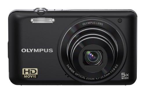 Olympus VG-130 Digitalkamera (14 Megapixel, 5-fach opt. Zoom, 7,6 cm (3 Zoll) Display, bildstabilisiert) schwarz