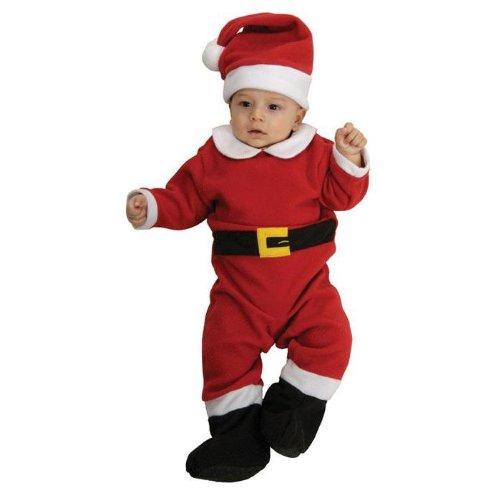 Rubie's Fleece Santa Costume, Infant