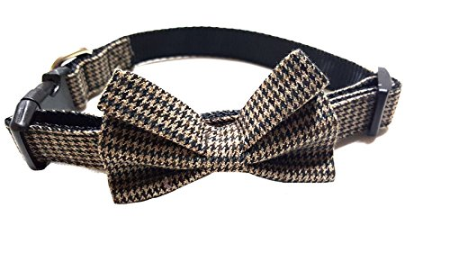 Bow Tie Dog Collar - For Dogs & Puppies - Fashion Colors & Patterns, Three Sizes