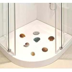 anti rutsch sticker f r duschen 6 er set motiv muschel k che haushalt. Black Bedroom Furniture Sets. Home Design Ideas